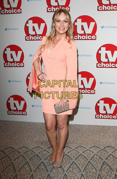 Michelle Hardwick at The TV Choice Awards at the Dorchester Hotel, Park Lane, London on September 5th 2016<br /> CAP/ROS<br /> &copy;Steve Ross/Capital Pictures