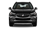 Car photography straight front view of a 2019 Buick Encore Premium 5 Door Suv Front View