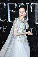 LONDON, ENGLAND - October 09: Angelina Jolie attending the European Premiere of 'Maleficent: Mistress of Evil' at BFI IMAX Waterloo on October 09, 2019 in London, England.<br /> CAP/MAR<br /> ©MAR/Capital Pictures /MediaPunch ***NORTH AMERICA ONLY***