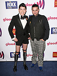 Mondo Guerra and Michael Costello  at The 22nd Annual Glaad Media Award held at The Westin Bonaventure  in Los Angeles, California on April 10,2011                                                                               © 2011 Hollywood Press Agency
