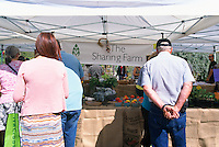 5th Annual Garlic Festival, August 2013 (hosted by The Sharing Farm) at Terra Nova Rural Park, Richmond, BC, British Columbia, Canada - Garlic Lovers check out the Organic Produce for sale