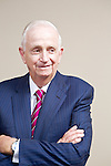 "John Willard ""Bill"" Marriott, Jr., the Executive Chairman and Chairman of the Board of Marriott International, poses for a portrait at the Marriott Corporate Headquarters in Bethesda, Maryland."