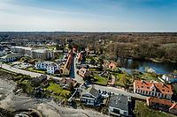 Hellebæk og Bøssemagergade set fra drone.<br /> <br /> <br /> <br /> Foto: Jens Panduro
