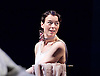 Waste <br /> by Harley Granville Barker<br /> at the Lyttelton Theatre, NT, Southbank, London, Great Britain <br /> 9th November 2015 <br /> Olivia Williams as Amy O'Connell <br /> <br /> Photograph by Elliott Franks <br /> Image licensed to Elliott Franks Photography Services