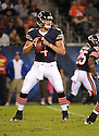 MATT BLANCHARD (4), of the Chicago Bears, in action during the Bears preseason game against the Denver Broncos on August 9, 2012 at Soldier Field in Chicago, IL. The Broncos beat the Bears 31-3.