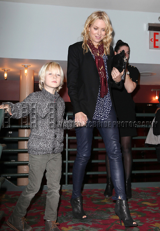 Naomi Watts with Alexandre Peteattending the New 42nd Street Gala at The New Victory Theater in New York City on December 5, 2012