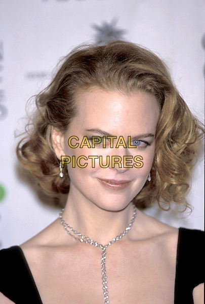 NICOLE KIDMAN.Golden Globe Awards.portrait headshot red eyes bloodshot .21 January 2001.ref:10304.www.capitalpictures.com.sales@capitalpictures.com.©Capital Pictures