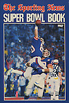 1987 TSN Super Bowl book front cover.