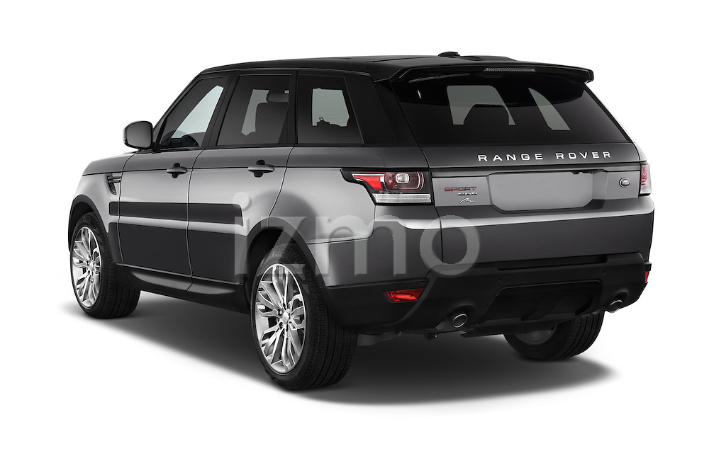 Car pictures of rear three quarter view of a 2015 Land Rover RANGE ROVER SPORT HSE Dynamic 5 Door SUV Angular Rear
