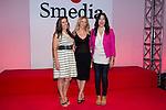 18.09.2012. Presentation of 'SMedia Group Theatre Season 2012/2013' at the Theater Cofidis in Madrid. In the image (L-R) Llum Barrera, Maria Adanez and Maria Isasi (Alterphotos/Marta Gonzalez) .