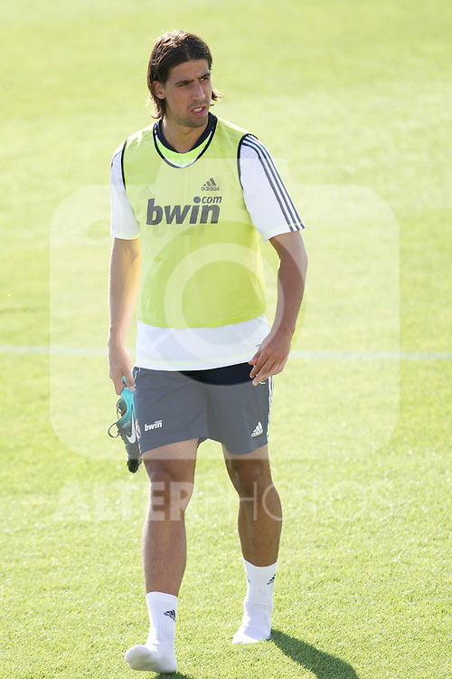 MADRID (11/08/2010).- Real Madrid training session at Valdebebas. Sami Khedira...Photo: Cesar Cebolla / ALFAQUI