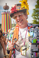 Scenes from the Glastonbury Festival 2015