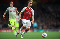 Nacho Monreal of Arsenal during the UEFA Europa League match between Arsenal and FC Koln at the Emirates Stadium, London, England on 14 September 2017. Photo by Andrew Aleks.