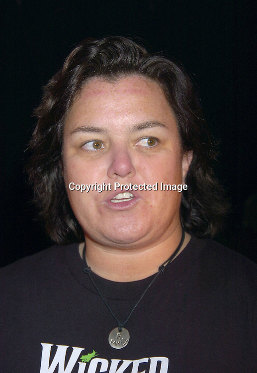 """Rosie O' Donnell ..at a performance of """"Pippin"""" A Concert to Benefit The National Aids Fund and The Storm Theatre on November 29, 2004 at The Manhattan Center's Grand Ballroom...PHoto by Robin Platzer, Twin Images"""