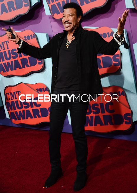 NASHVILLE, TN, USA - JUNE 04: Lionel Richie at the 2014 CMT Music Awards held at the Bridgestone Arena on June 4, 2014 in Nashville, Tennessee, United States. (Photo by Celebrity Monitor)