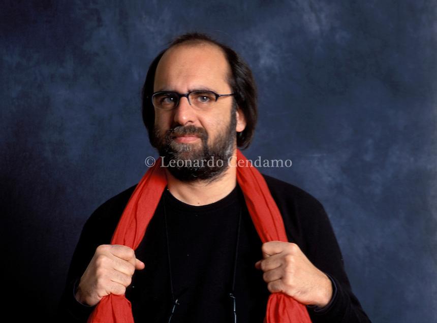 2001: PAOLO REPETTI, WRITER  © Leonardo Cendamo