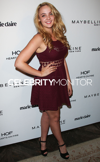WEST HOLLYWOOD, CA, USA - APRIL 08: Stevie Lynn Jones at the Marie Claire Fresh Faces Party Celebrating May Cover Stars held at Soho House on April 8, 2014 in West Hollywood, California, United States. (Photo by Celebrity Monitor)
