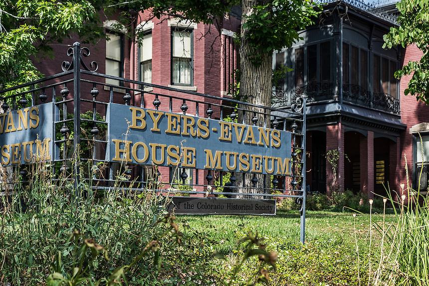 The Byers-Evans House Museum, denver, Colorado, USA.