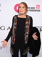 November 05, 2018 Gloria Steinem attend Elton John Aids Foundation's 17th Annual An Enduring Vision Benefit  at Cipriani 42nd Street in New York November 05, 2018 <br /> CAP/MPI/RW<br /> &copy;RW/MPI/Capital Pictures