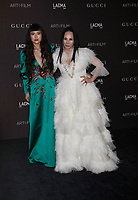 Asia Chow and Eva Chow attend 2018 LACMA Art + Film Gala at LACMA on November 3, 2018 in Los Angeles, California.     <br /> CAP/MPI/IS<br /> &copy;IS/MPI/Capital Pictures