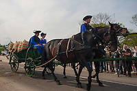 Traditional Hungarian herdsmen attend the celebration of the start of the new grazing season in the Great Hungarian Plain in Hortobagy, 200 km (124 miles) east of Budapest April 30, 2011.