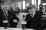 Sunday morning drinking at the Byker & St. Peters Working Men's Social Club Newcastle upon Tyne, Tyne and Wear northern England 1973