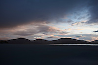 Sunset over Luskentyre beach, Isle of Harris, Outer Hebrides, Scotland