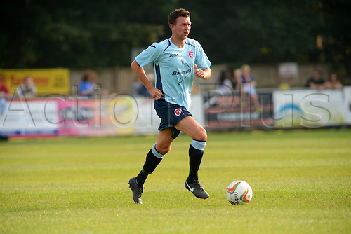 07.09.2014.  Poole, England. Charity match in aid of MND sufferer Andrew Culliford. Stephen Purches (ex-AFC Bournemouth)