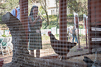 Occidental College alums enjoy a long weekend of activities and festivities both on campus and off during Alumni Reunion Weekend, June 22, 2013 by touring the UEPI garden, led by UEPI faculty. (Photo by Marc Campos, Occidental College Photographer)