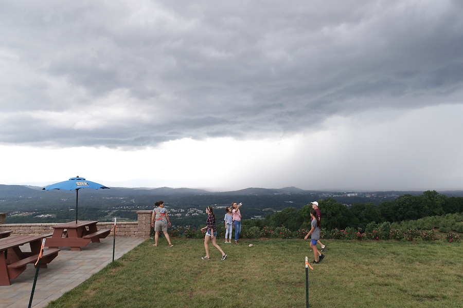 Storms clouds over Charlottesville, Virginia. Photo/Andrew Shurtleff Photography, LLC