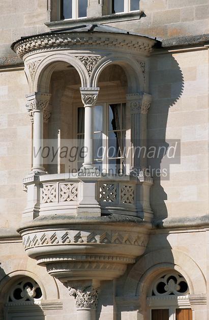 Europe/France/Aquitaine/33/Gironde/Saint-Julien: Détail du Château Lagrange (AOC Saint-Julien) [Non destiné à un usage publicitaire - Not intended for an advertising use]