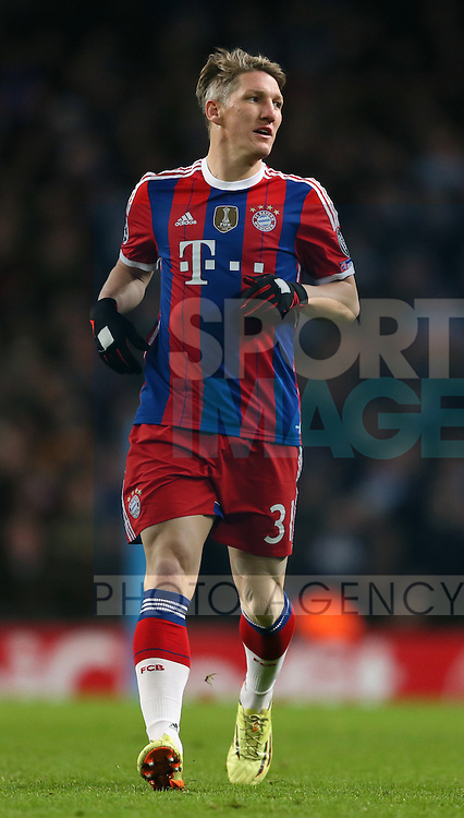Bastian Schweinsteiger of Bayern Munich  - UEFA Champions League group E - Manchester City vs Bayern Munich - Etihad Stadium - Manchester - England - 25rd November 2014  - Picture Simon Bellis/Sportimage