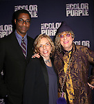 Stephen Bray, Marsha Norman and Allee Willis attending the Broadway Opening Night Performance After Party for 'The Color Purple' at Copacabana on December 10, 2015 in New York City.