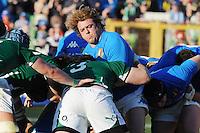 Andrea Lo Cicero (Italia)<br /> Italia vs Irlanda 11-13<br /> Six Nations Rugby<br /> Stadio Flaminio, Roma, 05/02/2011<br /> Photo Antonietta Baldassarre Insidefoto