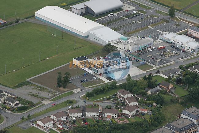 Aerial of Drogheda Fire Station and the Drogheda Leisure Park on the Rathmulen Road..Photo: Newsfile/Fran Caffrey.