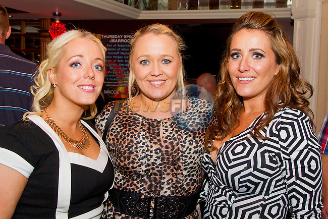 Tara Maguire, Catherine Maguire and Emma Kells in Barroco.<br /> Picture: Shane Maguire / Newsfile.ie
