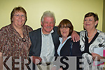 Enjoying the night out at Michael 'Fox' O'Connor's 60th birthday party held in The Brandon Hotel on Saturday night were l/r Hannah Lynch, Davie & Phil Barrett and Mary McCormack..   Copyright Kerry's Eye 2008