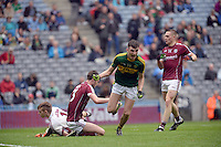 David Shaw scores Kerry second goal in the All-Ireland Minor final at Croke on Sunday.<br /> Photo: Don MacMonagle