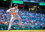 29 August 2010: St. Louis Cardinals outfielder Matt Holliday in action against the Washington Nationals at Nationals Park in Washington, DC. The Nationals defeated the Cards 4-2 to take the final game of their 4-game series. Mandatory Credit: Ed Wolfstein Photo