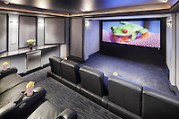 Armed with 4K video performance, commercial audio performance and soundproof construction, this 700 sqft basement theater will bombard your senses with a cinematic realism unlike anything experienced before!
