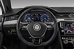 Car pictures of steering wheel view of a 2016 Volkswagen Passat-Variant GTE 5 Door wagon Steering Wheel
