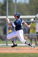UW-Stout Blue Devils Josh Halling (13) during the second game of a doubleheader against the Edgewood Eagles on March 16, 2015 at Lee County Player Development Complex in Fort Myers, Florida.  UW-Stout defeated Edgewood 8-2.  (Mike Janes/Four Seam Images)