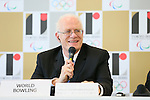Kevin Dornberger,  AUGUST 7, 2015 :  World Bowling (WB)  holds a media conference following its interview  with the Tokyo 2020 Organising Committee in Tokyo Japan.  (Photo by YUTAKA/AFLO SPORT)