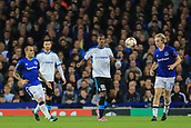 28th September 2017, Goodison Park, Liverpool, England; UEFA Europa League group stage, Everton versus Apollon Limassol; Alef of Apollon Limassol clears the ball upfield