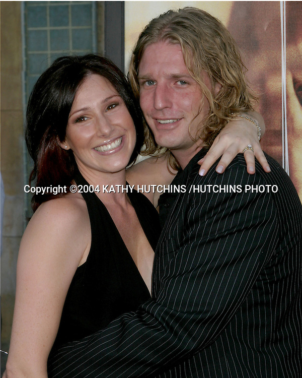 "©2004 KATHY HUTCHINS /HUTCHINS PHOTO.PREMIERE OF ""WICKER PARK"".LOS ANGELES, CA.AUGUST 31, 2004..TIFFANY.HUSBAND BEN GEORGE"