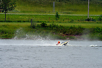 Frame 21: 30-H, 44-S spins out in turn 2   (Outboard Hydroplanes)   (Saturday)