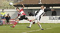 21/04/2007       Copyright Pic: James Stewart.File Name : sct_jspa03_gretna_v_clyde.COLIN MCMENAMIN SHOOTS OVER FROM CLOSE RANGE.James Stewart Photo Agency 19 Carronlea Drive, Falkirk. FK2 8DN      Vat Reg No. 607 6932 25.Office     : +44 (0)1324 570906     .Mobile   : +44 (0)7721 416997.Fax         : +44 (0)1324 570906.E-mail  :  jim@jspa.co.uk.If you require further information then contact Jim Stewart on any of the numbers above.........
