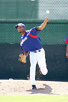 Geuris Grullon / Texas Rangers 2008 Instructional League..Photo by:  Bill Mitchell/Four Seam Images