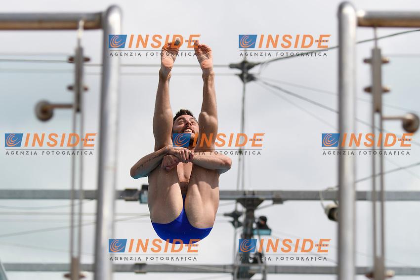 Michele BENEDETTI ITA <br /> 3m Springboard men <br /> Roma 20-06-2016 Stadio del Nuoto Foro Italico Tuffi Campionati Italiani <br /> Foto Andrea Staccioli Insidefoto
