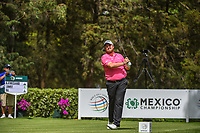 Shane Lowry (IRL) watches his tee shot on 8 during round 2 of the World Golf Championships, Mexico, Club De Golf Chapultepec, Mexico City, Mexico. 2/22/2019.<br /> Picture: Golffile | Ken Murray<br /> <br /> <br /> All photo usage must carry mandatory copyright credit (© Golffile | Ken Murray)